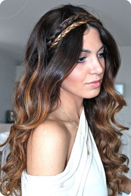 Top 9 Ombre Hairstyles for Back to School   Wavy hairstyles Two