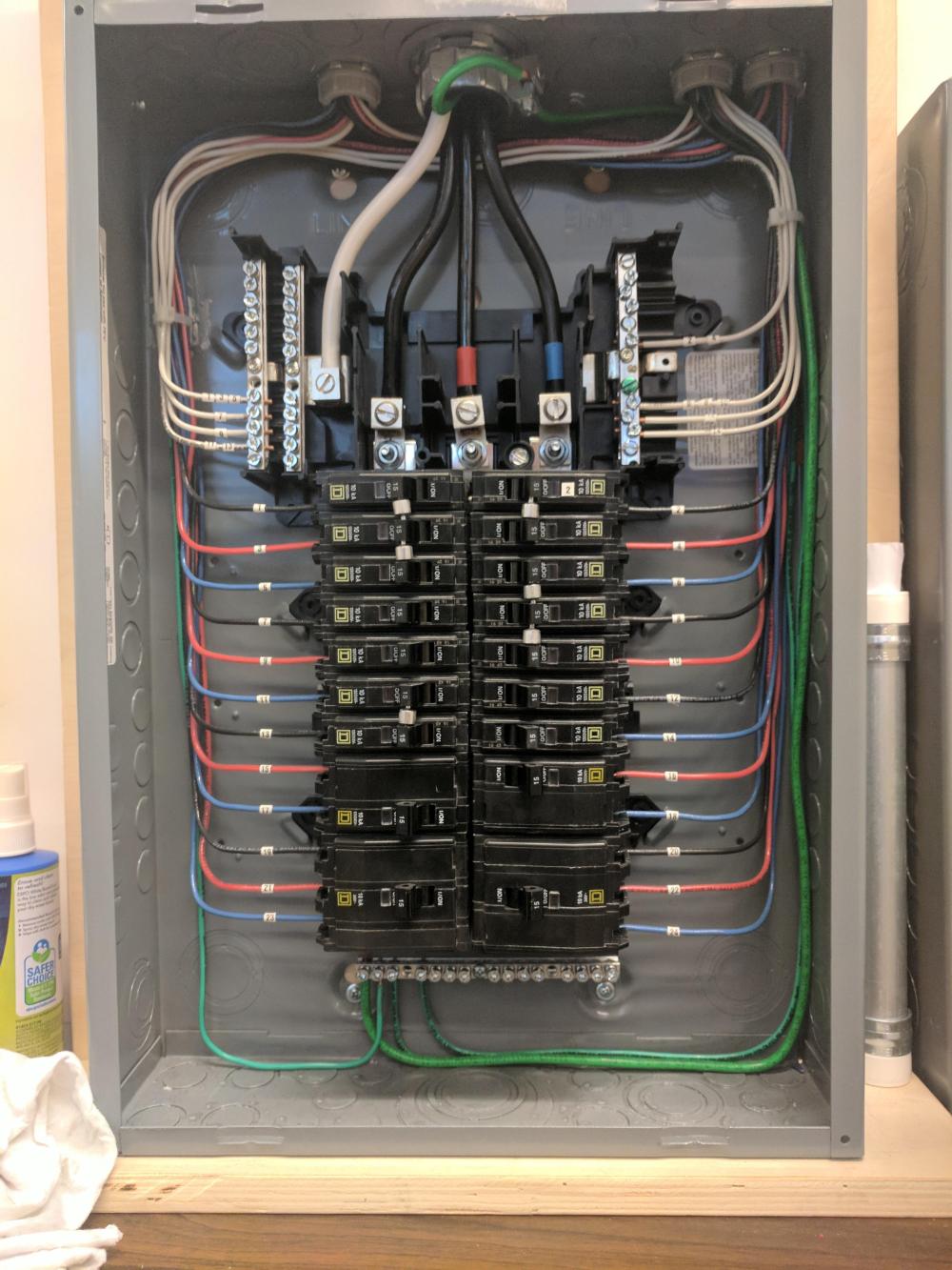 Residential Electrical Panel Wiring Diagrams 3 Phase Electrical Panel Diagram Breaker Box Diagram Template Desk Juttaeckenbach De En 2020 Electrica