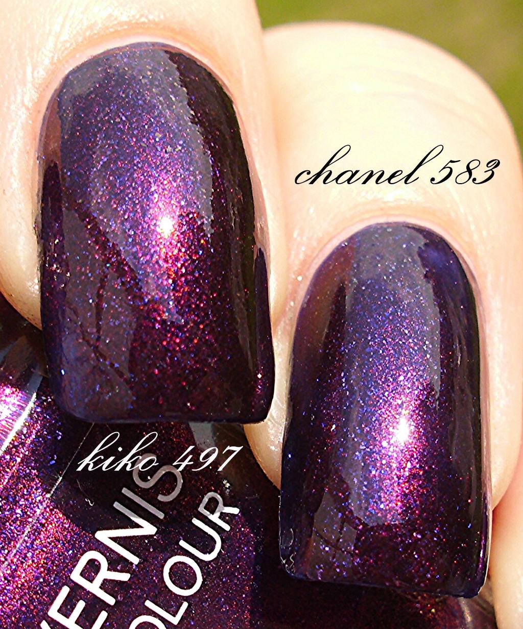 Kiko 497 Pearly Indian Summer Vs Chanel 583 Taboo Nagellack 2 0 Kiko 497 Dupe For