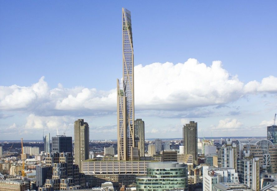 Plans unveiled for for London's first timber skyscraper.         Gloucestershire Resource Centre http://www.grcltd.org/home-resource-centre/