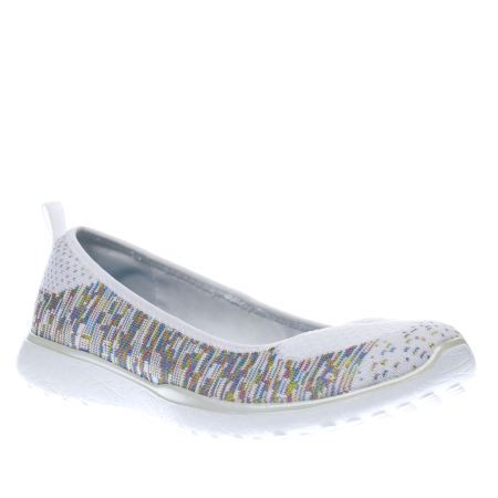 SKECHERS MICROBURST - MADE YOU LOOK / WHITE - MULTI