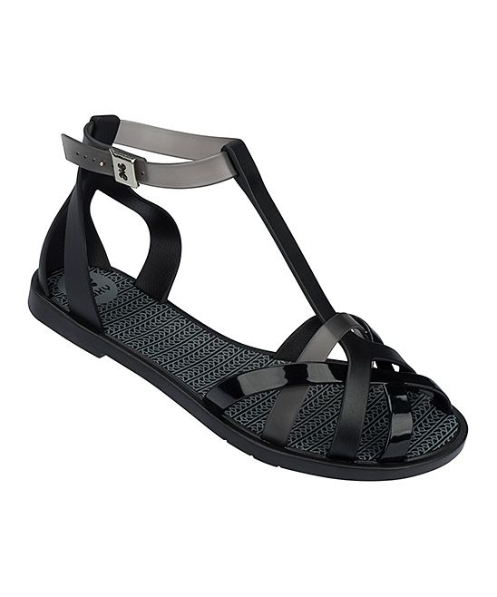Black Frozen Sandal - Women