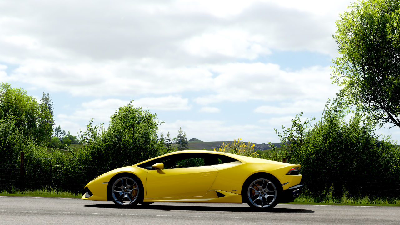 Обои wheels, Lamborghini, supercar, yellow, lp610-4. Автомобили foto 2