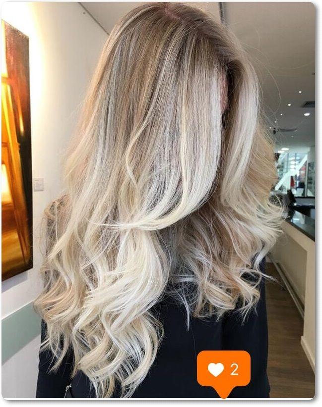 20 süße und leichte blonde Balayage Frisuren #blondeombre