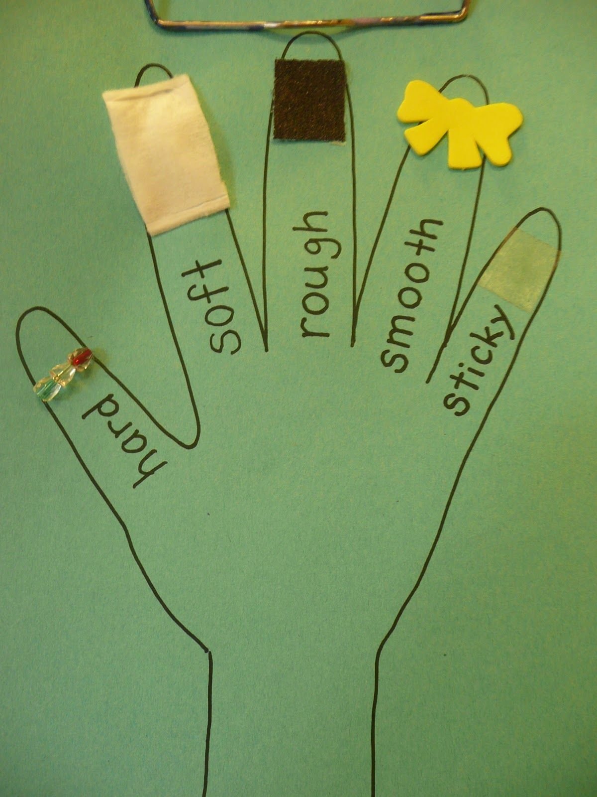 Here S Another Example Of Creating A Sensory Hand For