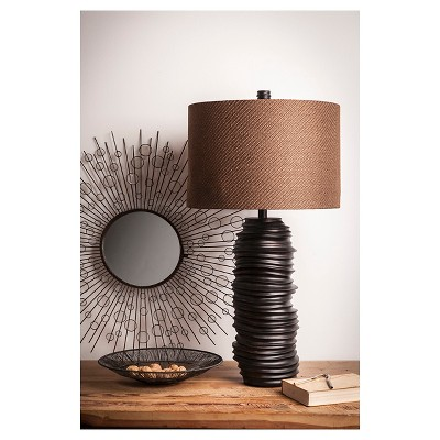Hutchison Table Lamp - Brown