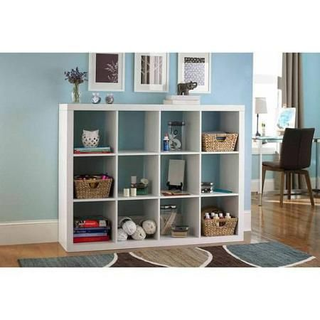 Threshold Cube Storage From Target Makes A Great And Inexpensive Tv Stand Cube Storage Organize Tv Stand Living Room Tv Stand