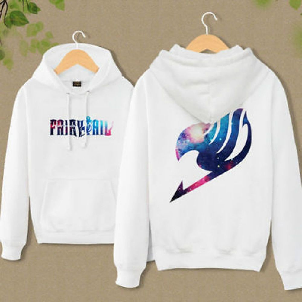 Details about anime fairy tail clothing hooded sweatshirt