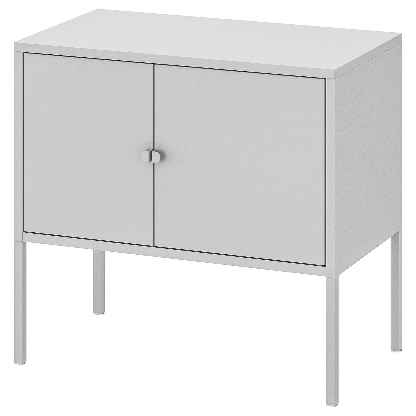 Lixhult Schrank Metall Grau Ikea Osterreich Metallschrank
