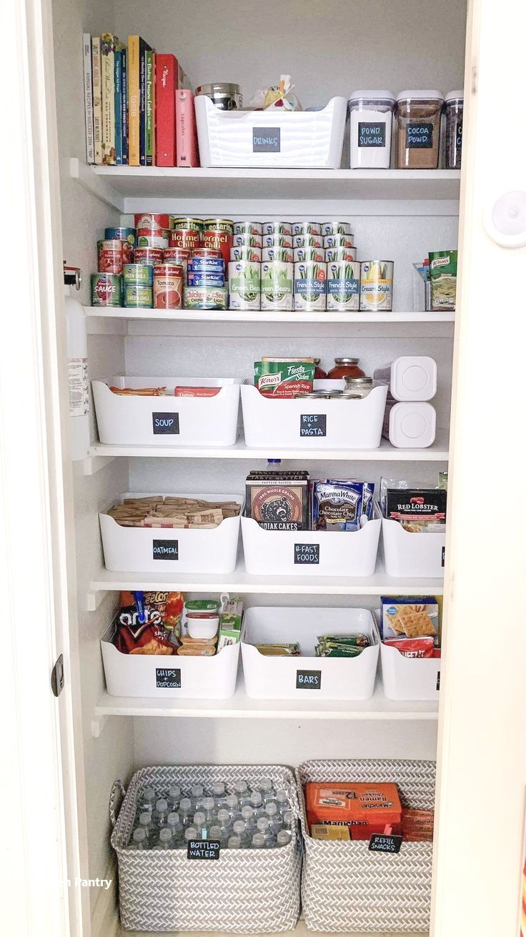 Pantry Organization Small Pantry Ideas