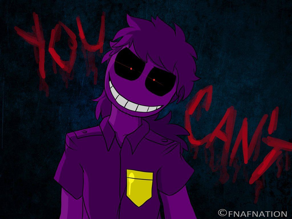 Purple Guy: You Can't. By FNAFNations