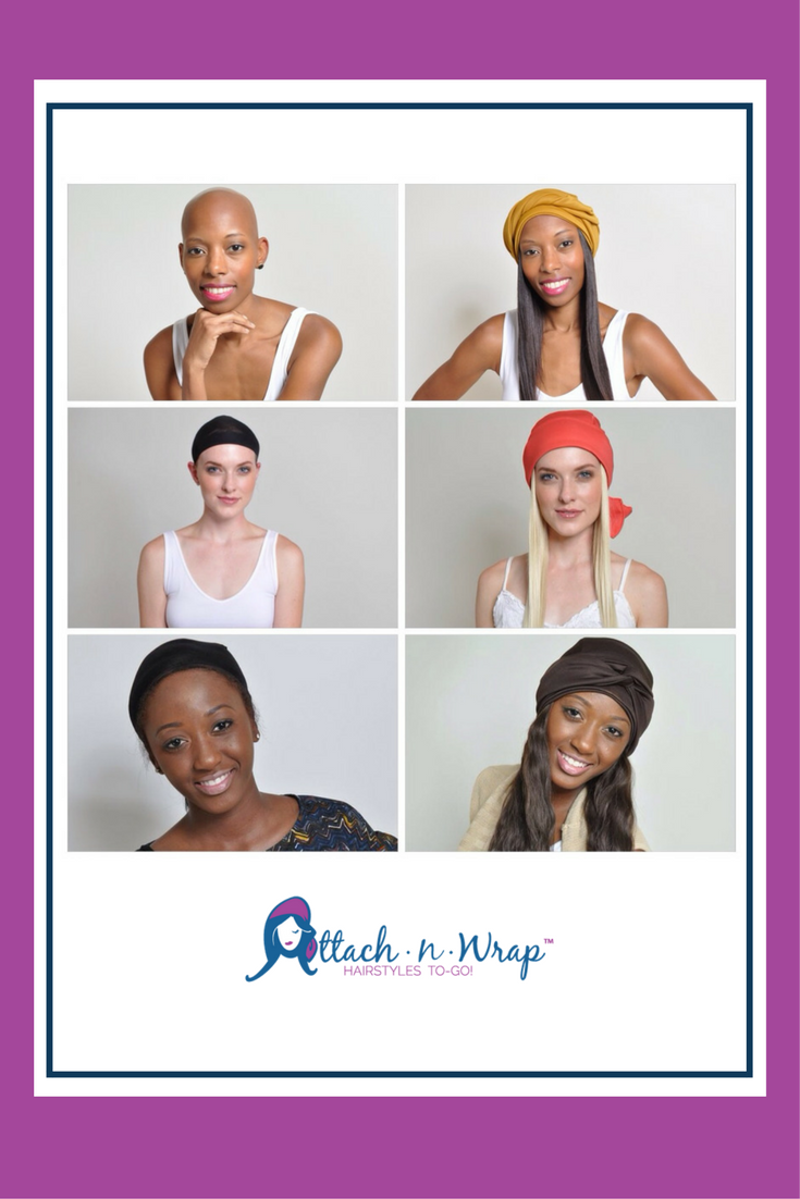 We love a great Before & After shot! Hair loss, Scarves