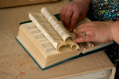 A few ideas for those books even I feel have outlived their usefulness (old, outdated reference books, etc.).