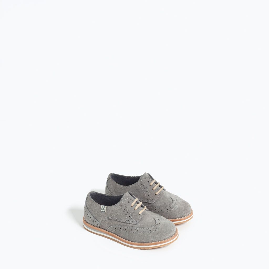 LEATHER BLUCHERS-SHOES-BABY BOY   3 months-3 years-KIDS  
