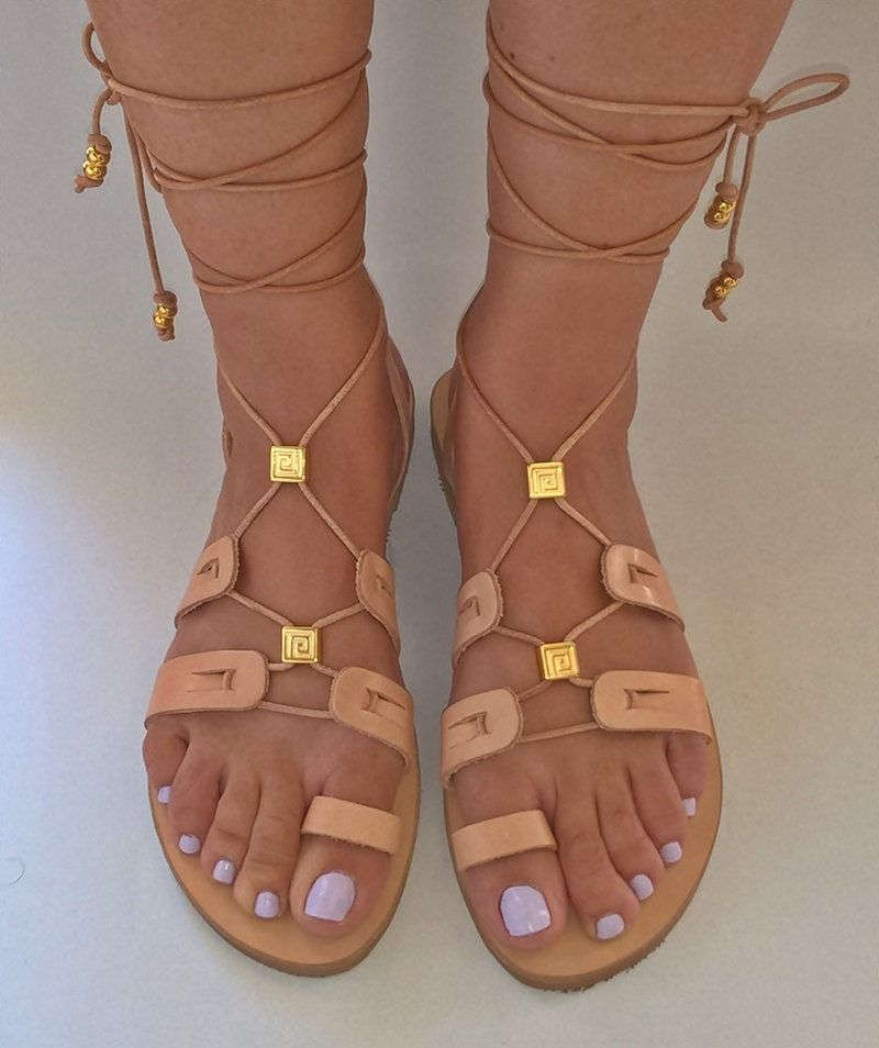 leather sandals , gladiator sandals . women's shoes , strappy sandals  ,handmade sandals , womens