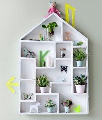 Kidsonroof, decoraci�n de pared para habitaci�n infantil, casa para coleccionistas, Collectors House de Kidsonroof