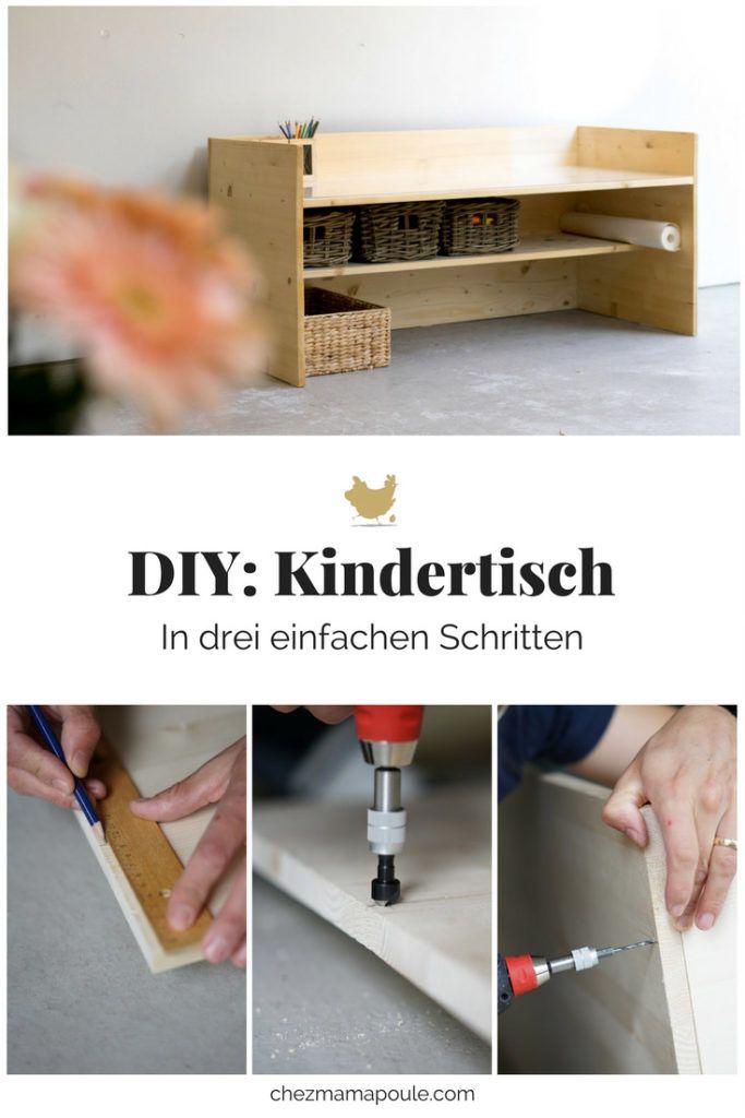DIY Kindertisch zum selbermachen statt kaufen