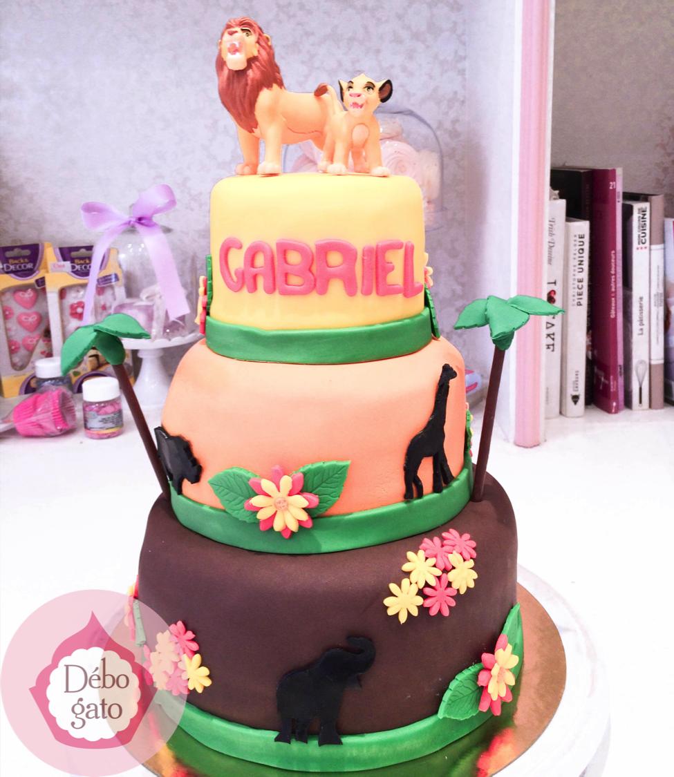 Gâteau Le Roi Lion Simba Gâteaux Personnalisés Gâteau D