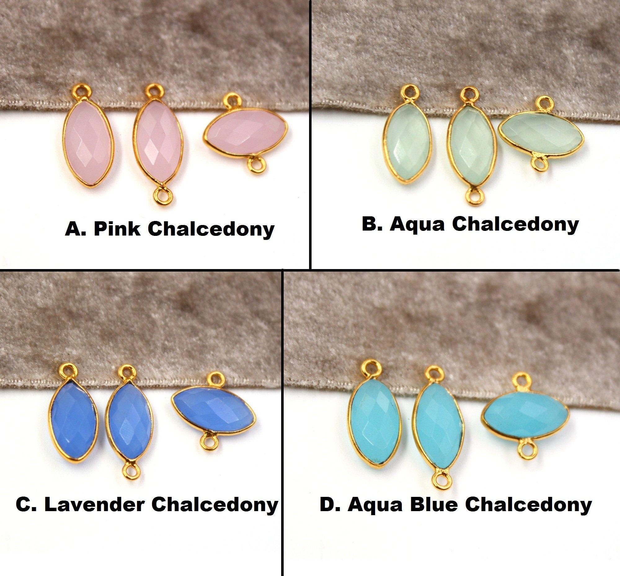 Real Lemon Pink Aqua Geode Slice Druzy Silver Plated DIY Earring Pair Connectors