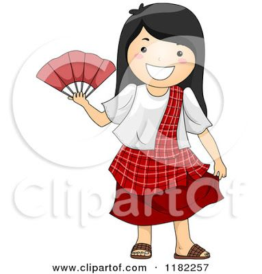 Philippines Girl Clipart Black And White Black And White Costume Black And White Pictures