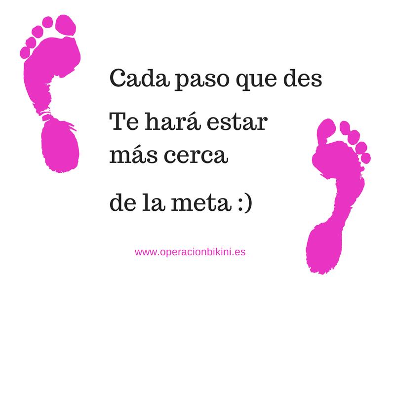 Cada paso