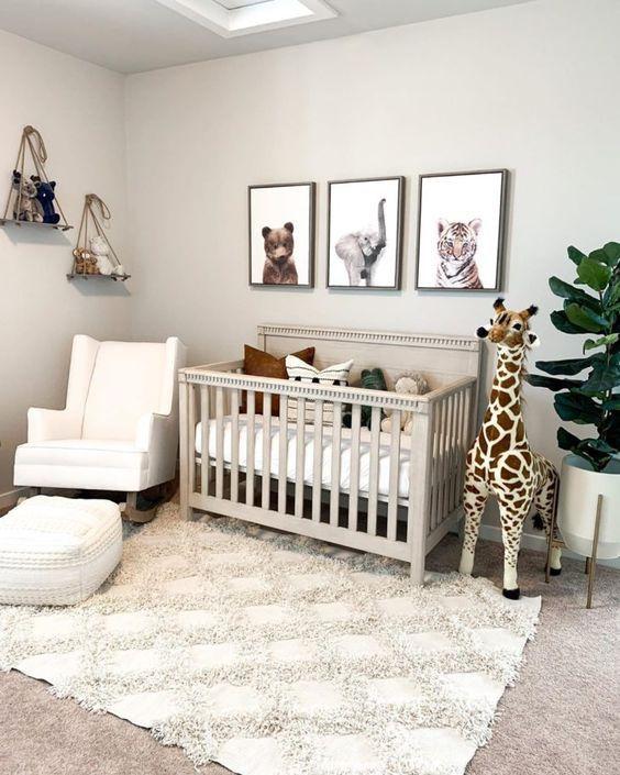 43 quartos de bebê simples e aconchegantes