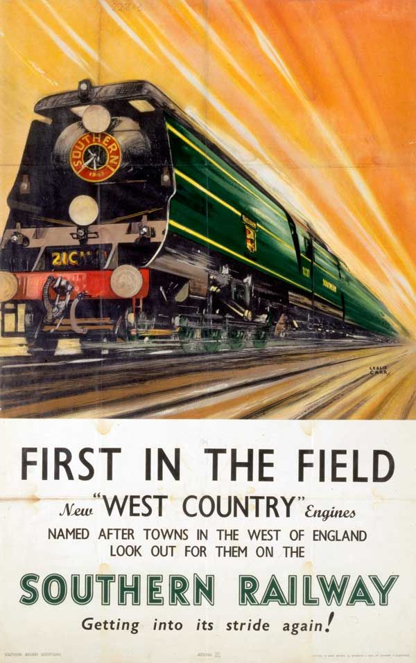 Vintage Railroad Travel Poster New York Central 20th Century Ltd A4 Print