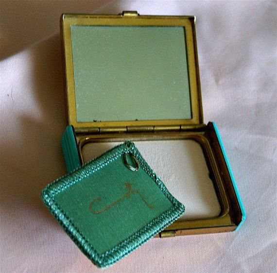 1940 Vintage Compact with powder by Coty by VintageUnderTheSun, $45.00