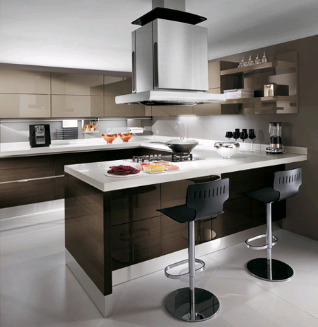 Small kitchen design ideas picture as inspiration as for Contemporary kitchen design