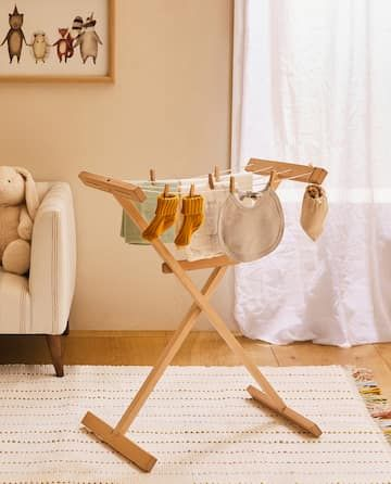 Photo of KIDS' WOODEN CLOTHES HORSE – VIEW ALL – FURNITURE & DECORATION – KIDS | Zara Home Belgium