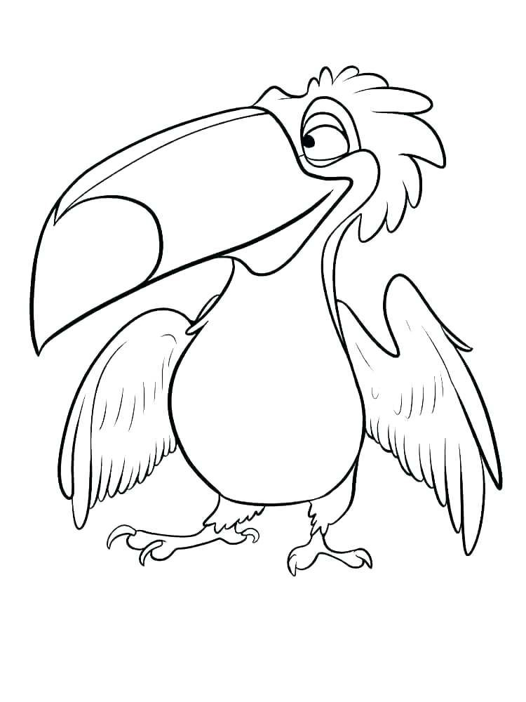 Toucan Coloring Pages Coloring Pages For Kids Coloring Pages