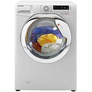 Buy Hoover DXCC49W3 9KG 1400 Washing Machine- White at ...
