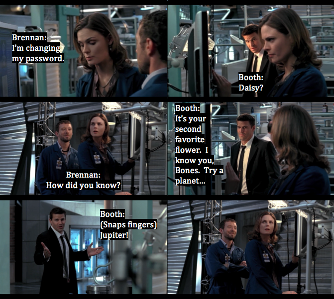 Temperance Quotes: Bones And Booth And Passwords