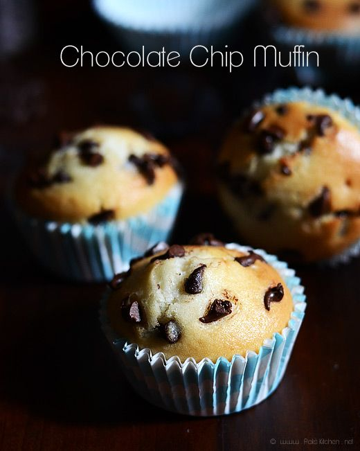 Chocolate chip muffins recipe without eggs