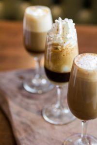 Three Mini Signature Coffee Drinks