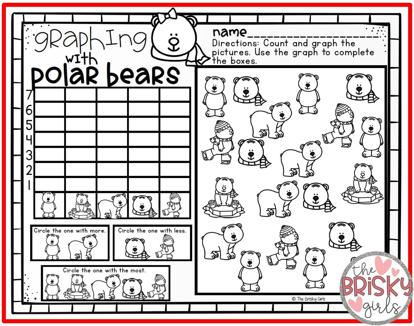 Pin By The Brisky Girls On Y Care Polar Bears Kindergarten Polar Bears Preschool Polar Bears Activities [ 1056 x 1344 Pixel ]