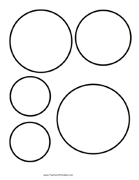 Use Circle Templates To Lay Out Your Classroom Art Projects Free