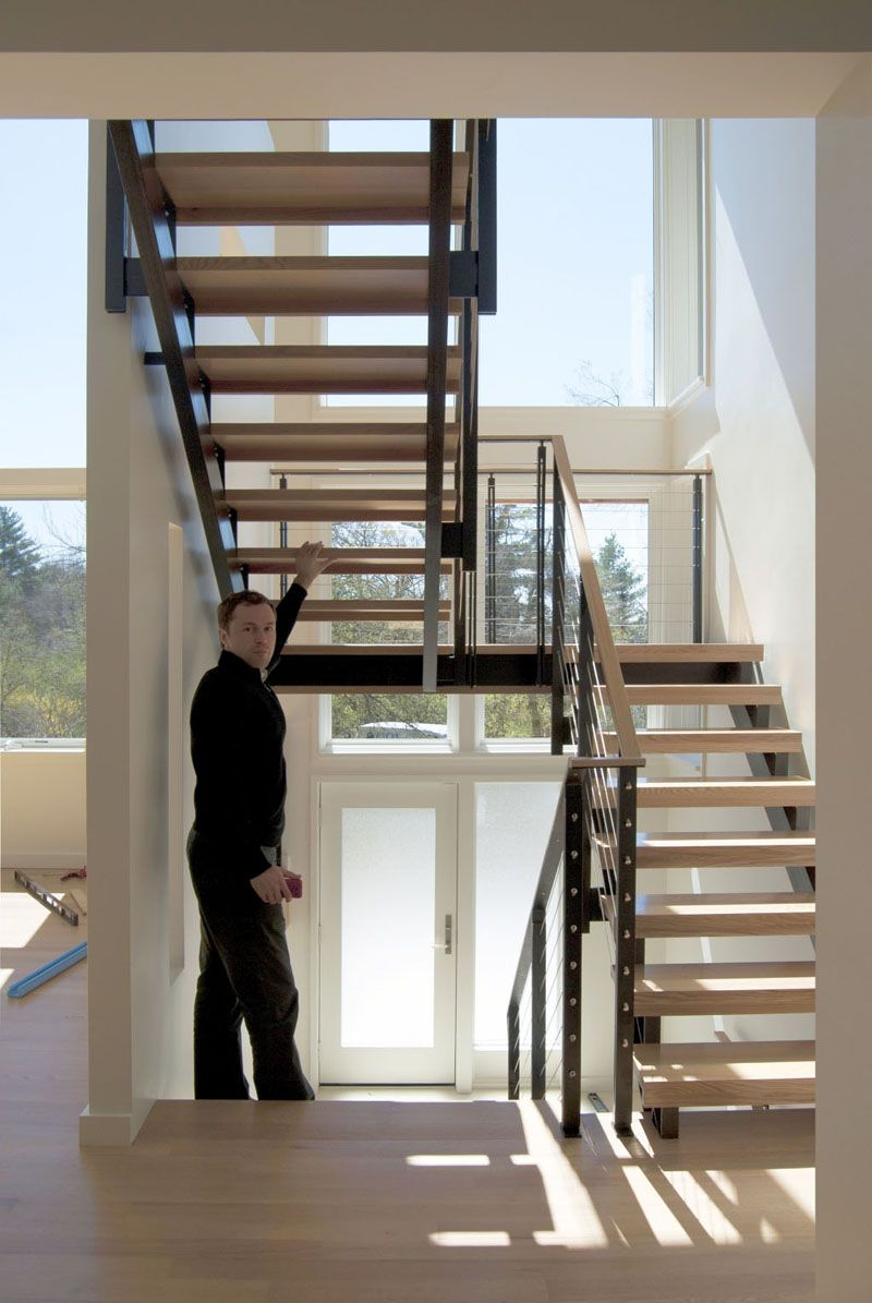 Best Stair Stringer Detail Google Search House Stairs 640 x 480