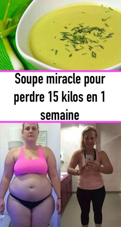 Soupe miracle pour perdre 15 kilos en 1 semaine