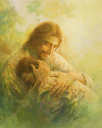 Show details for I Will Give You Rest | Jesus art, Pictures of jesus christ, Jesus painting