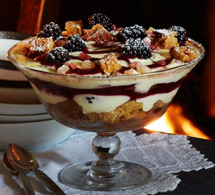 Yorkshire parkin blackberry trifle recipe dinner party yorkshire parkin blackberry trifle recipe dinner party desserts bonfire night and freshly baked forumfinder Choice Image