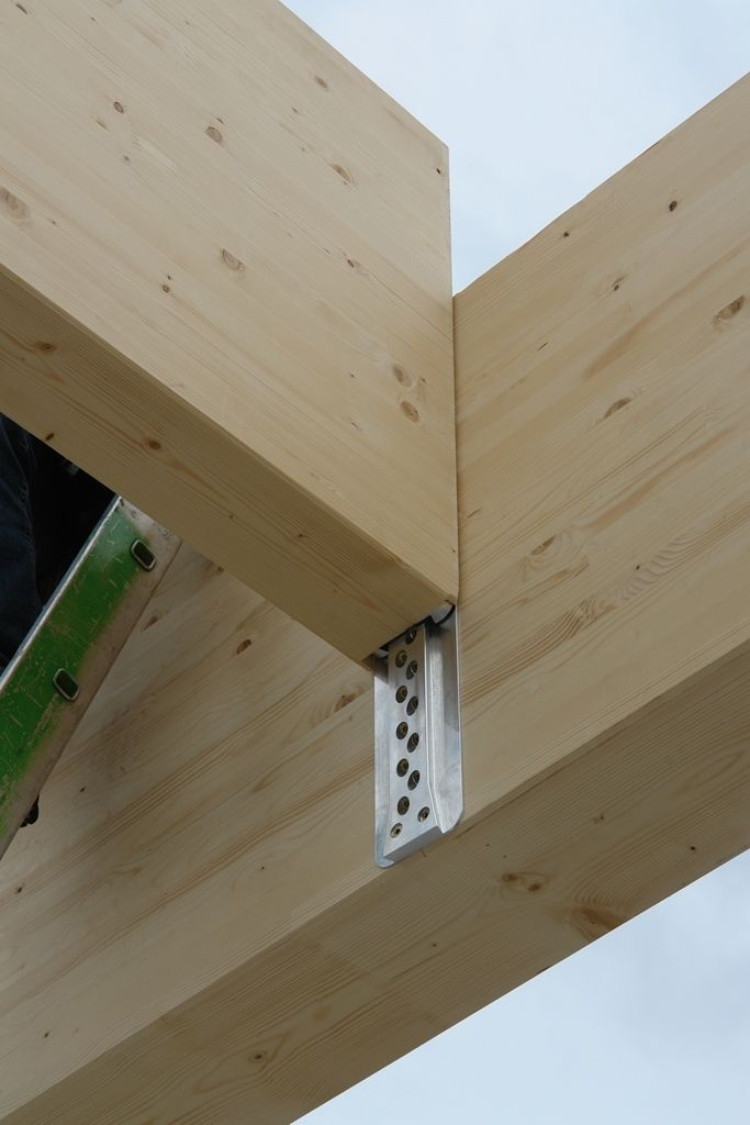 Sherpa Connector Cast Into Concrete To Seperate Joist From Wall And