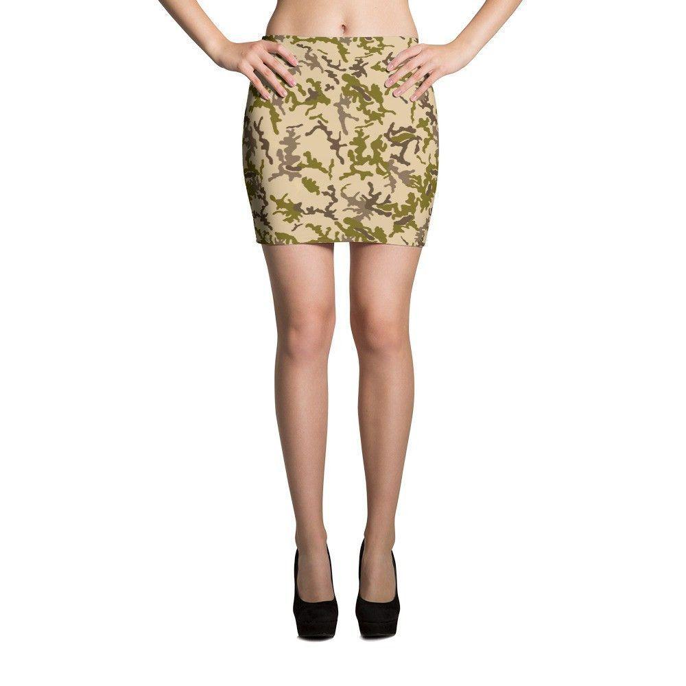 Egyptian Desert CAMO Mini Skirts