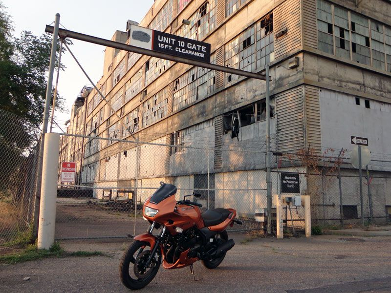 motorcycle abandoned warehouse - Google Search