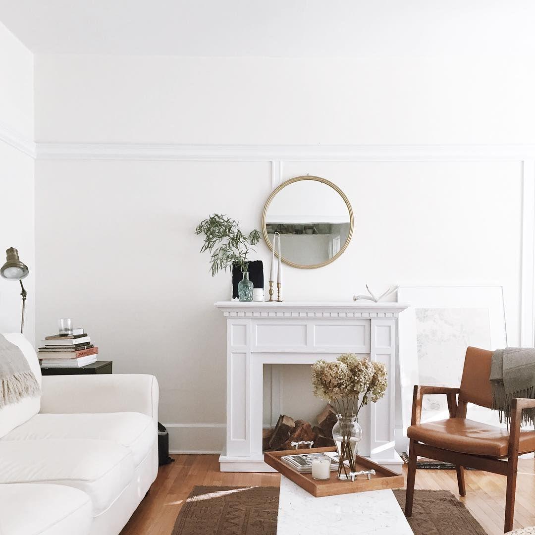 Romantic Minimalist Living Room Via Anne Sage  Fresh Living Room Brilliant Design Living Room Minimalist Inspiration
