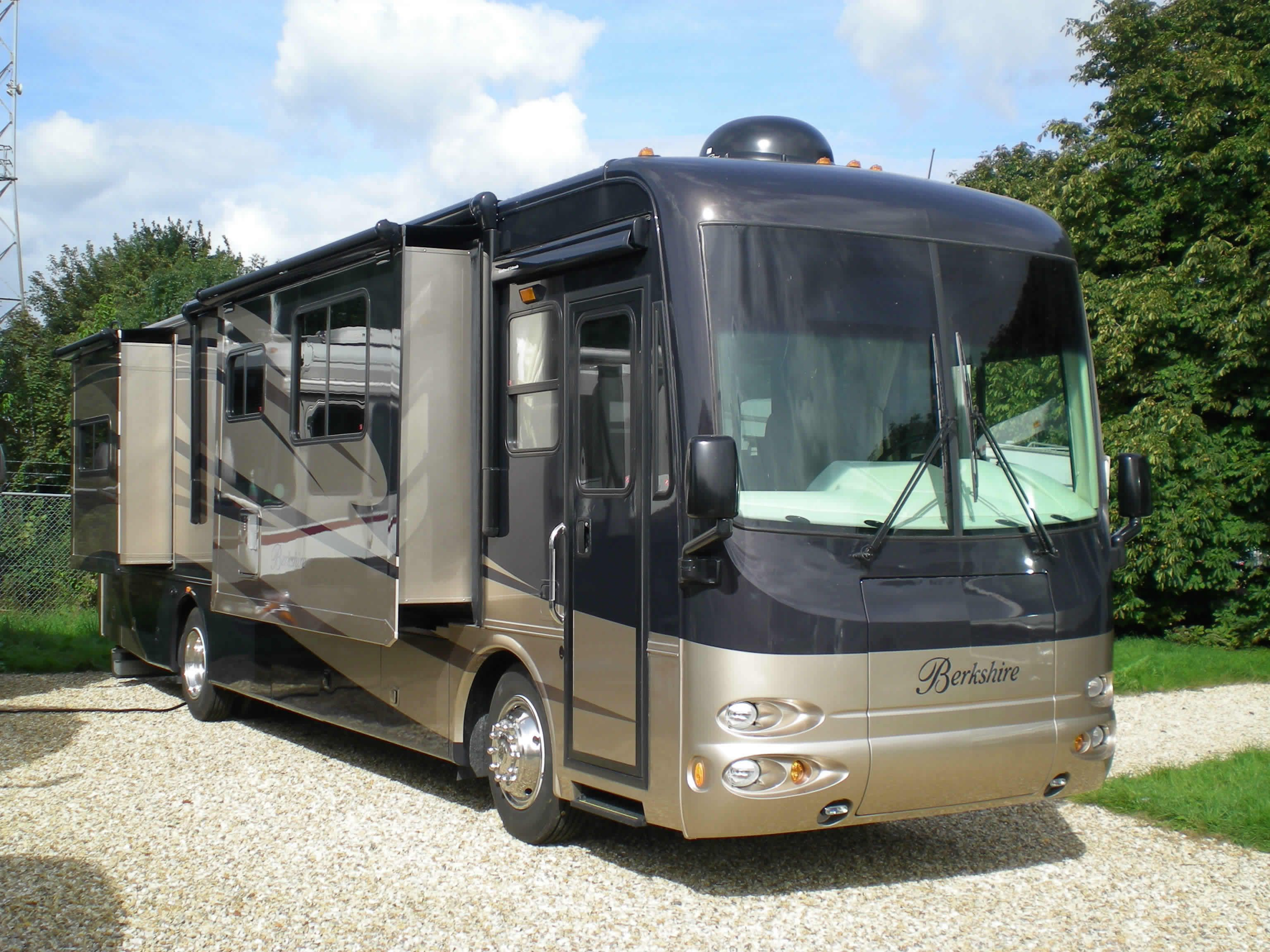 Luxurious Motorhomes Interior 2008 Forest River