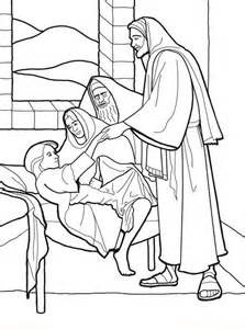 Jesus Heals Jairus Daughter Activities | Jairus Daughter | Pinterest ...