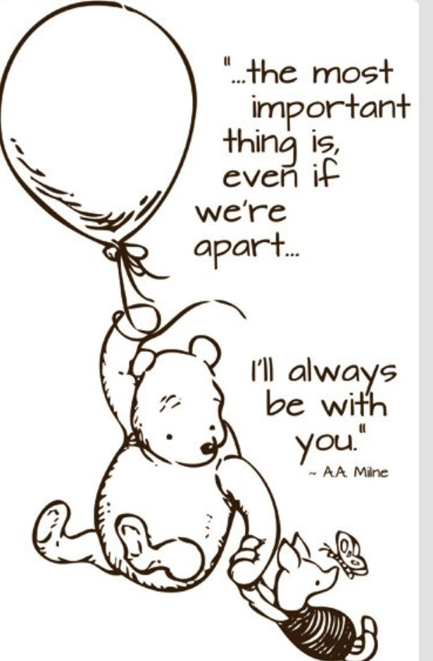 I Ll Always Be With You Winnie The Pooh Quotes Pinterest