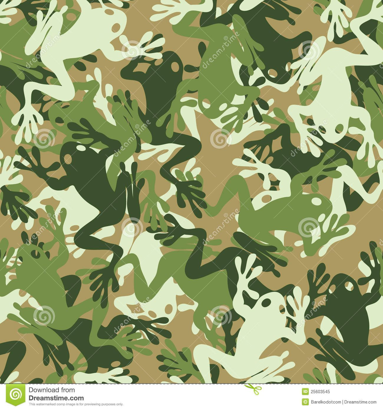 Seamless Frog Camouflage Pattern Download From Over 27 Million