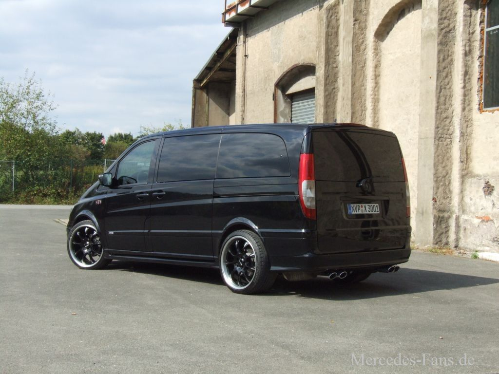 kein schwarzarbeiter mercedes benz viano 2006er maxi van. Black Bedroom Furniture Sets. Home Design Ideas